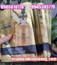 Mặt nạ lụa 24k Goldzan Silk Mask chính hãng